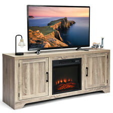 TV Stand Entertainment Center Console Media Display Storage w/2 Doors for 65