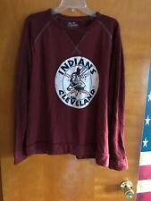 Men's Cleveland Indians Majestic Throwback Sweatshirt XL (NWOT)