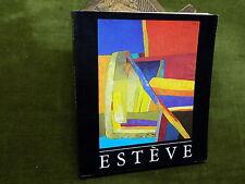 ESTEVE Catalogue d'expo 1986  Peinture Française Abstraction