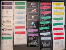 Monopoly Title Deed Cards YOU PICK Replacement Pieces Nascar, Disney, Vegas, etc