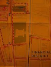 RARE World Trade Center brochure and map Around Ground Zero 3/2002 New York City