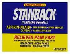 Stanback Headache Powders 50 Each (Pack of 5)