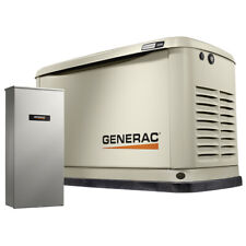 Generac 7036 - 16kW A/C Home Standby Generator w/ WiFi + 100 Amp Switch (HSB)