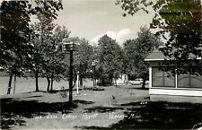 Minnesota, MN, Vergas, Rose Lake Cabins Resort 1956 Real Photo Postcard