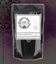 Strongest Blue Lotus Extract 200:1   Organic Nymphaea caerulea 200X -50 Capsules