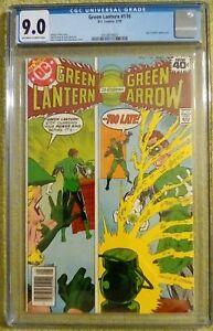 Green Lantern #116 (DC 5/79) CGC 9.0 VF/NM  1st Guy Gardner as Green Lantern KEY