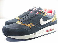 DS NIKE 2012 AIR MAX 1 BLACK LEOPARD M 8/ W 9.5 ATMOS PATTA CAMP 180 90 95 93
