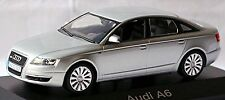 AUDI A6 Limousine C6 Type 4f 2004-08 Light Silver Silver Metallic 1 43