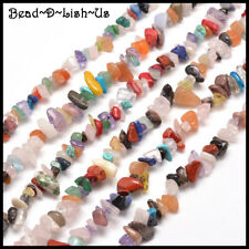 1 Strand 80cm long Bead Chips - DIY Jewellery - Natural & Synthetic Gemstone Mix