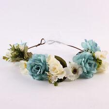 Mom And Kids Wedding Flower Hair Garland Crown Headband Floral Wreath Hairband/