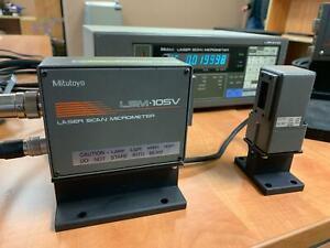 Mitutoyo LSM 105V Laser Scan Micrometer Code: 544-728V LSM-105V