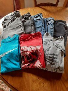lot vêtements garçon 12 ans jeans, tee-shirts, jogging