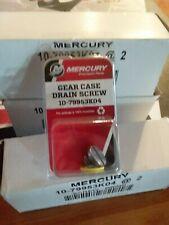 Mercury Drain Screw Kits 10-79953K04 Outboard Lower Unit Winterization Supplies