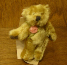 """Russ Berrie MO BEARS & FRIENDS #21053 WITNEY, 3"""" Mohair From Retail Store"""