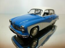 MINICHAMPS 1:43 - WARTBURG 1962-1966 - EXCELLENT CONDITION-9+6
