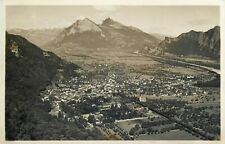 Switzerland to identify panorama photo postcard