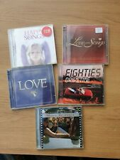 Job Lot Of Love Song Cd Albums Cheap Clearout etc