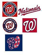Washington Nationals Vinyl Stickers  Nats Baseball MLB