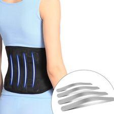 Best Unisex Lower Back Brace Lumbar Support Belt Adjustable Posture Corrector M
