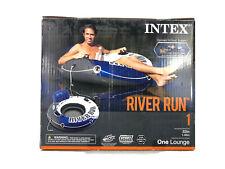 Intex River Run 1 Lounge Inflatable Floating Water Tube Raft