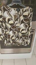 Ellen Tracy Size XL Long Sleeve Top