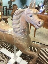 Antique Carousel Horse By Charles Dare - Circa 1880's