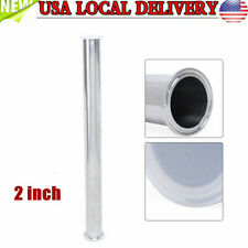 "2"" Tri Clamp 51mm Pipe Sanitary Spool Tube Length 610mm Stainless Dairy Beer Usa"