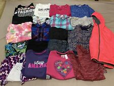 Huge Girls Clothing Lot Size 10-12 10 12 EUC Shirts pants EUC NWT's