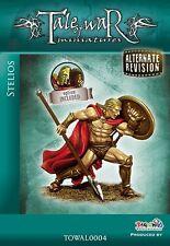 Tale of War Miniatures alternativo revisión Stelios el espartano