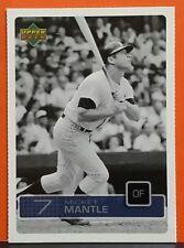 Mickey Mantle card 03 Upper Deck #UD7