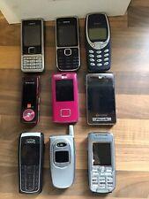 joblot Assorted mobile phones