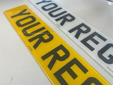 STANDARD MOT UK Road Legal Car Van Trailer Reg Registration Number Plates