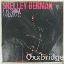SHELLEY BERMAN A Personal Apearance SEALED LP Verve Original 1961 COMEDY