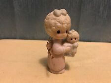 """Precious Moments 1987 Ornament """"Love Is The Best Gift Of All"""" Item # 109770"""