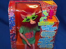 New in Box! 1990 Zap Wise Aces Ass Animated Bendable Action Figure Puppet Doll