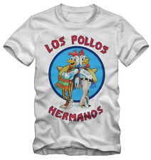 T-shirt /Maglietta breaking bad Los pollos hermanos Serie TV