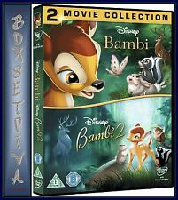 BAMBI/BAMBI 2 - DOUBLE PACK *** BRAND NEW DVD  ***