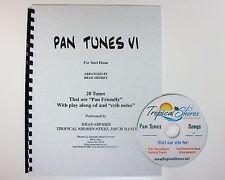 """Steel Drum Play Along Book """"Pan tunes 6"""""""