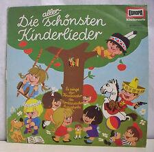 """33T DIE ALLERSCHONSTEN KINDERLIEDER Disque Dessin Enfant LP 12"""" KUCKKUCK -EUROPA"""