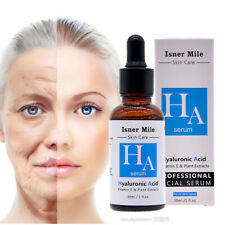 100% Pure Hyaluronic Acid Serum Anti-Aging Lock Water for All Skin Types 30 mL