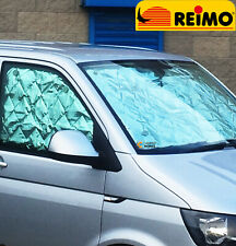 REIMO CarBest VW T5 & T6 Internal Silver Thermal & Privacy Cab Campervan Screens