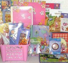 new Disney Pooh Kids Easter toy gift basket Birthday Piglet Toys school supplies