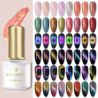 BORN PRETTY 6ml 9D Cat Eye Soak Off UV Gel Nail Polish Magnetic Glitter Varnish