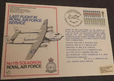 1978 Armstrong Whitworth Argosy Last Flight In Service Flight Cover FDC