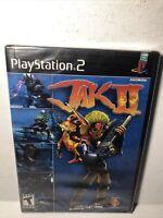 Jak II Sony PlayStation 2 PS2 Brand New Sealed Black Label 1st Print!