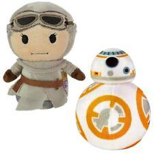 Set of 2 Star Wars Itty Bitty Soft Toys - Rey and BB8 - Gift Idea Birthday