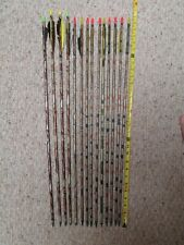 Lot Of 14 Aluminum Arrows, Gamegetter, Super Slam, Xx75, Superlite, Ultralite