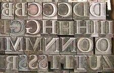 Letterpress metal type Narciss 48 pt
