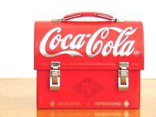 Coca Cola Coke Miniature Tin Lunchbox Delicious & Refreshing 2003