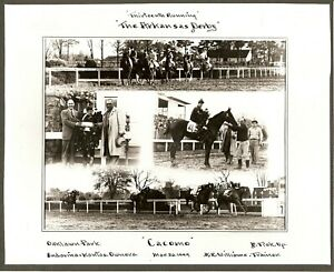 "1949 - Arkansas Derby Winner - CACOMO - 4 Photo Composite - 10"" x 8"""